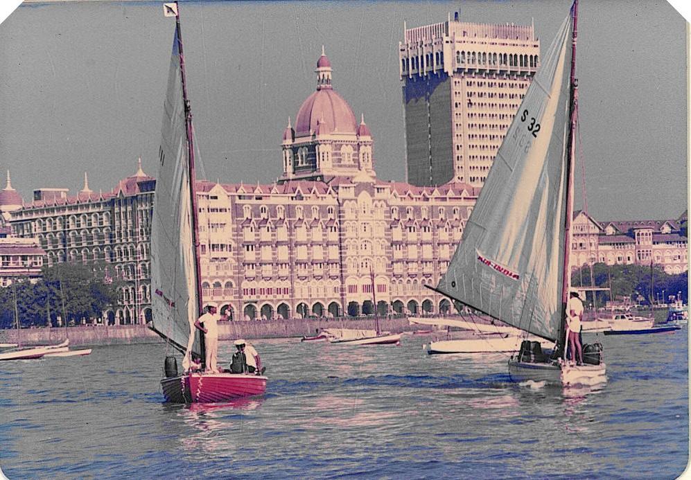 Seabird Sailboats at Gateway of India