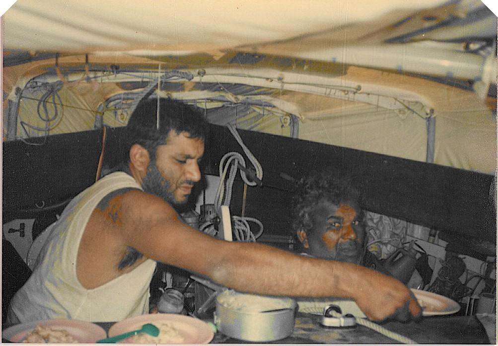 Sheri Bamboat on Bombay Muscat Voyage on a Seabird